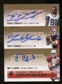 2007 Upper Deck SP Rookie Threads SP Multi Marks Autographs Triple #SEL Matt Leinart EXCH/Trent Edwards/Isaiah