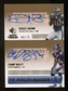 2007 Upper Deck SP Rookie Threads SP Multi Marks Autographs Dual #BB Champ Bailey/Reggie Brown Autograph /75