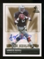 2007 Upper Deck SP Rookie Threads Rookie Exclusive Autographs #REJR JaMarcus Russell Autograph /100