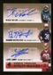 2007 Upper Deck SP Rookie Threads SP Multi Marks Autographs Triple #NML Reggie Nelson/LaRon Landry/Brandon Mer