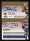 2007 Upper Deck SP Rookie Threads SP Multi Marks Autographs Dual #QS Brady Quinn Drew Stanton /75