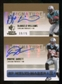 2007 Upper Deck SP Rookie Threads SP Multi Marks Autographs Dual #WJ DeAngelo Williams/Dwayne Jarrett Autograp