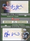 2006 Bowman #WW Lendale White & DeAngelo Williams Signs of the Future Dual Rookie Auto #38/50