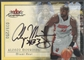 2000/01 Fleer Autographics #52 Alonzo Mourning Silver Auto #039/250