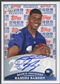 2009 Topps Rookie Premiere #RB Ramses Barden Rookie Auto