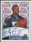 2009 Topps Rookie Premiere #AC Aaron Curry Rookie Auto