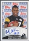 2009 Topps Rookie Premiere #MW Mike Wallace Rookie Auto
