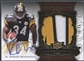 2008 Exquisite Collection #171 Rashard Mendenhall Rookie Patch Auto #68/99