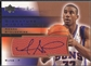 2003/04 Sweet Shot #AS Amare Stoudemire Signature Shots Ball Auto