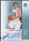 2011/12 SP Authentic #17 Jimmer Fredette Rookie Auto