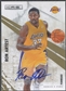 2010/11 Rookies and Stars #93 Ron Artest Signatures Auto #25/25