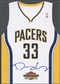 2009/10 Panini Threads #16 Danny Granger Team Threads Away Auto #24/25