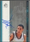 1999/00 SP Authentic #MB Mike Bibby Sign of the Times Auto