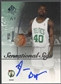 2005/06 SP Authentic #WB Will Bynum Sensational Sigs Auto