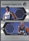 2004/05 SP Authentic #HS Devin Harris & Jerry Stackhouse Fabrics Dual Jersey #092/100