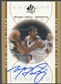 2000/01 SP Authentic #MF Michael Finley Sign of the Times Auto