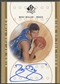 2000/01 SP Authentic #MK Mike Miller Sign of the Times Rookie Auto