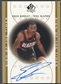 2000/01 SP Authentic #EB Erick Barkley Sign of the Times Rookie Auto
