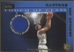 2001/02 Stadium Club #TCDN Dirk Nowitzki Touch of Class Jersey