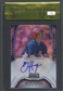 2011 Bowman Sterling #BH Bryce Harper Rookie Prospect Black Refractor Auto #03/25 BGS 9.5 RCR