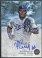 2013 Bowman Inception #YP Yasiel Puig Prospect Blue Rookie Auto #41/75