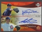 2005 Reflections #JSMP Johan Santana & Mark Prior Dual Signatures Red Auto #44/99