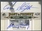 2011 SP Legendary Cuts #DASHPS Enos Slaughter & Johnny Pesky Past and Present Dual Signatures Cut Auto #14/15