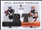 2007 SP Rookie Threads #QR Brady Quinn & JaMarcus Russell Rookie Threads Dual Jersey