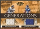 2007 Donruss Threads #7 Kellen Winslow & Jeremy Shockey Generations Materials Jersey #079/250