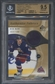 2005/06 SP Game Used #AFRN Rick Nash Authentic Fabrics Gold Jersey #030/100 BGS 9.5