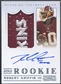 2012 Panini National Treasures #302 Robert Griffin III Rookie Signature Material Platinum Patch Auto #1/5