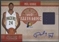 2010/11 Timeless Treasures #10 Paul George NBA Apprentice Rookie Jersey Auto #07/50