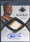 2008/09 Exquisite Collection #70 Roy Hibbert Rookie Patch Auto #141/225