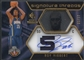 2008/09 SP Rookie Threads #77 Roy Hibbert Rookie Parallel Patch Auto #05/17