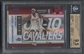 2009/10 Playoff Contenders #43 LeBron James Championship Ticket #1/1 BGS 9.5
