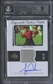 2013 Upper Deck Tiger Woods Master Collection #ERPTW Tiger Woods Exquisite Patch Auto #08/25 BGS 9