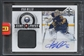 2012/13 Panini Black Box #GPRM Ryan Miller Puck Auto #1/1