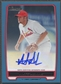2012 Bowman Prospect #MA Matt Adams Blue Rookie Auto #340/500