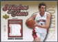 2006/07 Chronology #SITAB Andrea Bargnani Stitches in Time Gold Rookie Jersey #50/75