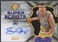 2007/08 SPx #SH Spencer Hawes Super Scripts Auto