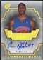 2007/08 SPx #AA Arron Afflalo Endorsements Rookie Auto