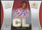 2007/08 Ultimate Collection #CL Carl Landry Materials Rookie Jersey Auto