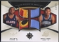 2007/08 Ultimate Collection #LA Morris Almond & Acie Law Rookie Matchups Patch #13/25