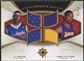 2007/08 Ultimate Collection #TC Al Thornton & Javaris Crittenton Rookie Matchups Gold Jersey #41/50