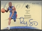 2007/08 SP Authentic #126 Rodney Stuckey Retail Rookie Auto #036/599