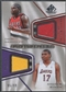 2007/08 SP Game Used #RB Zach Randolph & Andrew Bynum Authentic Fabrics Dual Jersey #95/99
