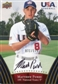 2008/09 Upper Deck USA Baseball Autographs Gold #107 Matthew Purke 71/175