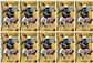 2008 Upper Deck Heroes Football 9-Pack Box (10-Box Lot)