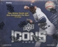 2009 Upper Deck Icons Baseball Hobby Box
