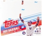 2011 Topps Series 1 Baseball Retail 16-Pack Box